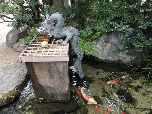 弁天池の龍2